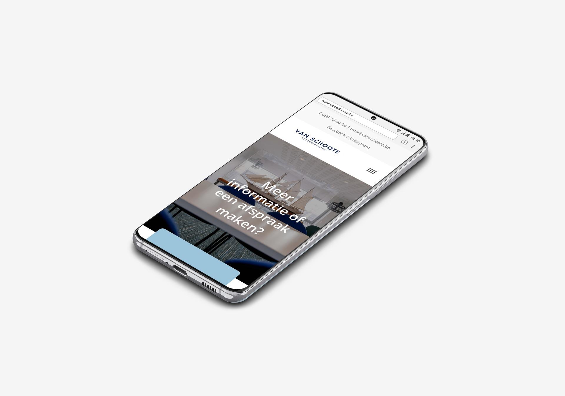 Van Schoote webdesign