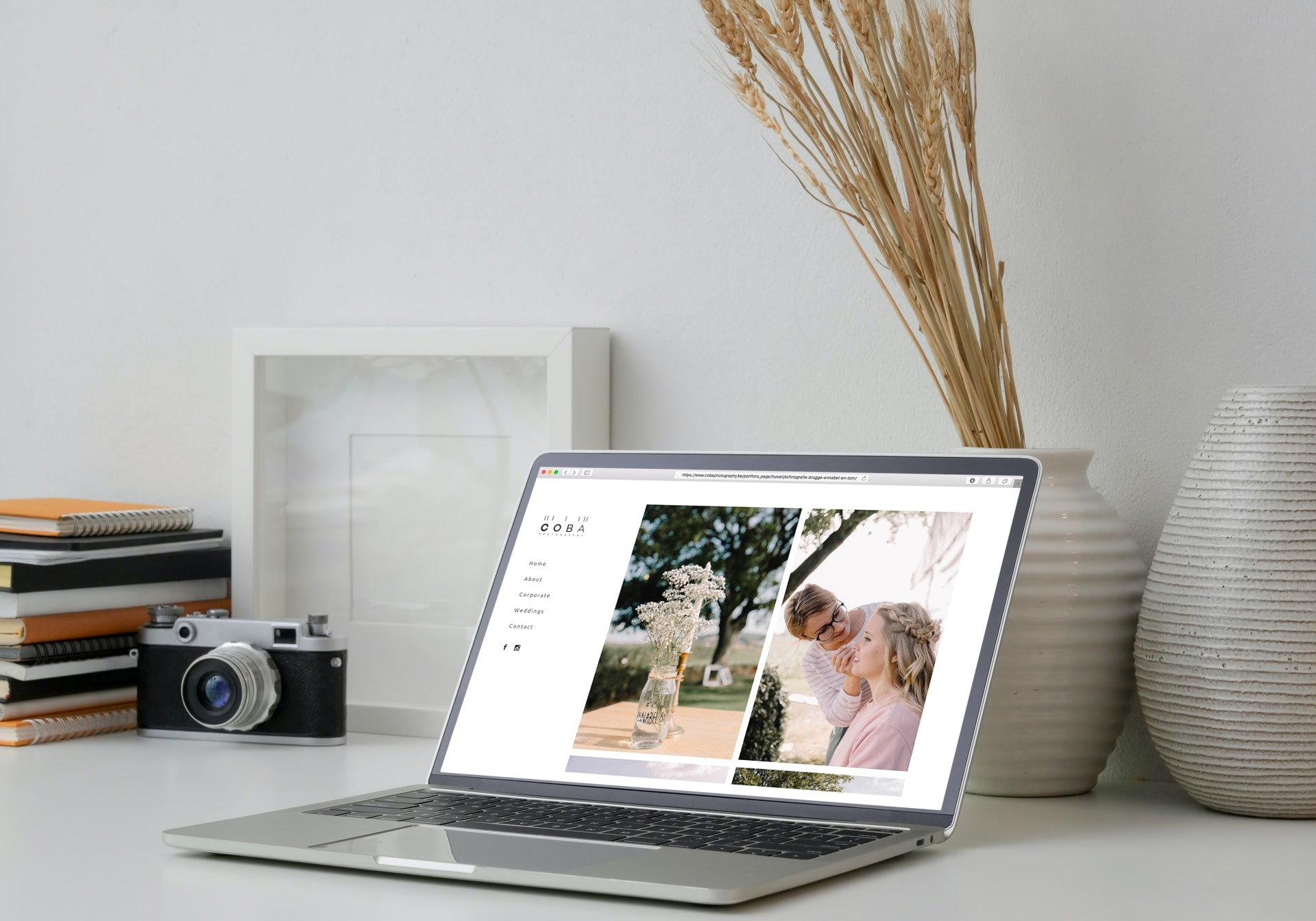 COBA Photography webdesign